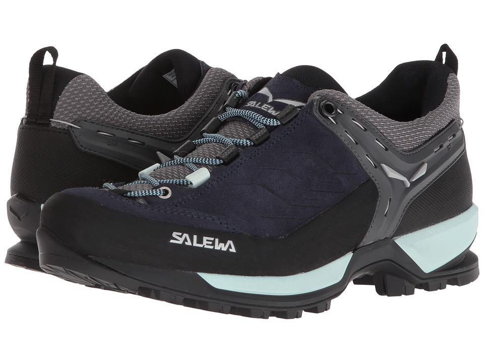 SALEWA Mountain Trainer (Premium Navy/Subtle Green) Women's Shoes