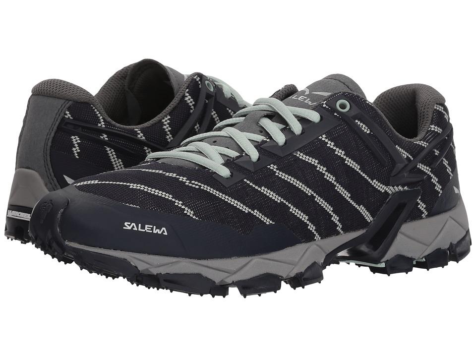 SALEWA Lite Train (Premium Navy/Subtle Green) Women's Shoes