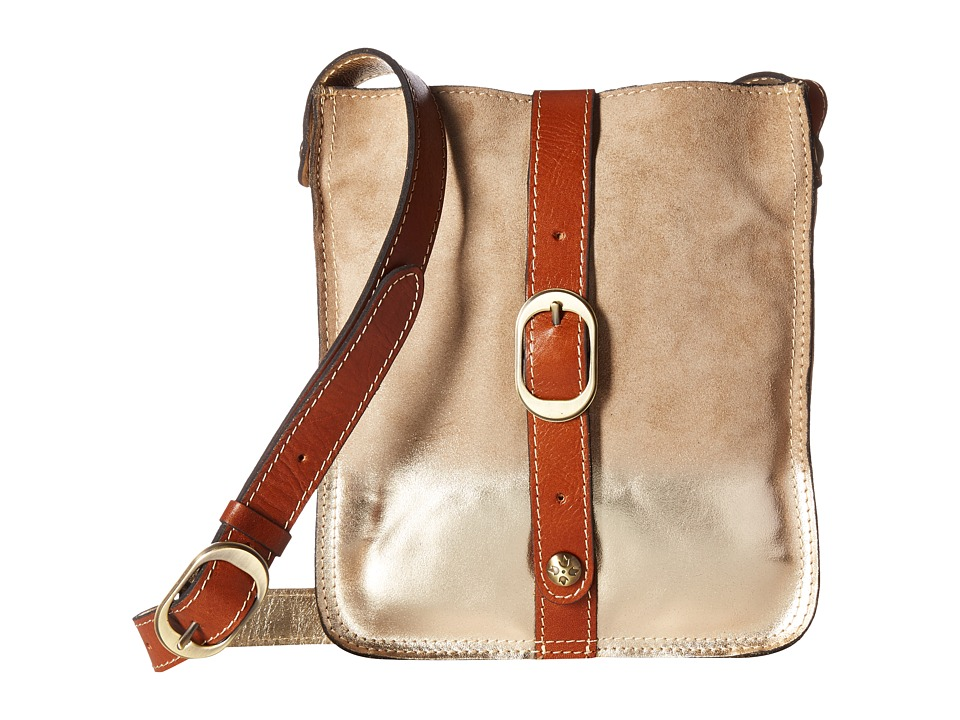 Patricia Nash - Venezia Crossbody (Tan/Gold) Cross Body Handbags
