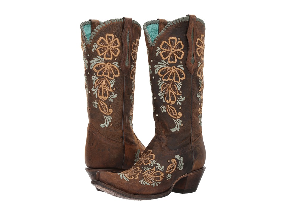 Corral Boots - R1434 (Brown) Cowboy Boots
