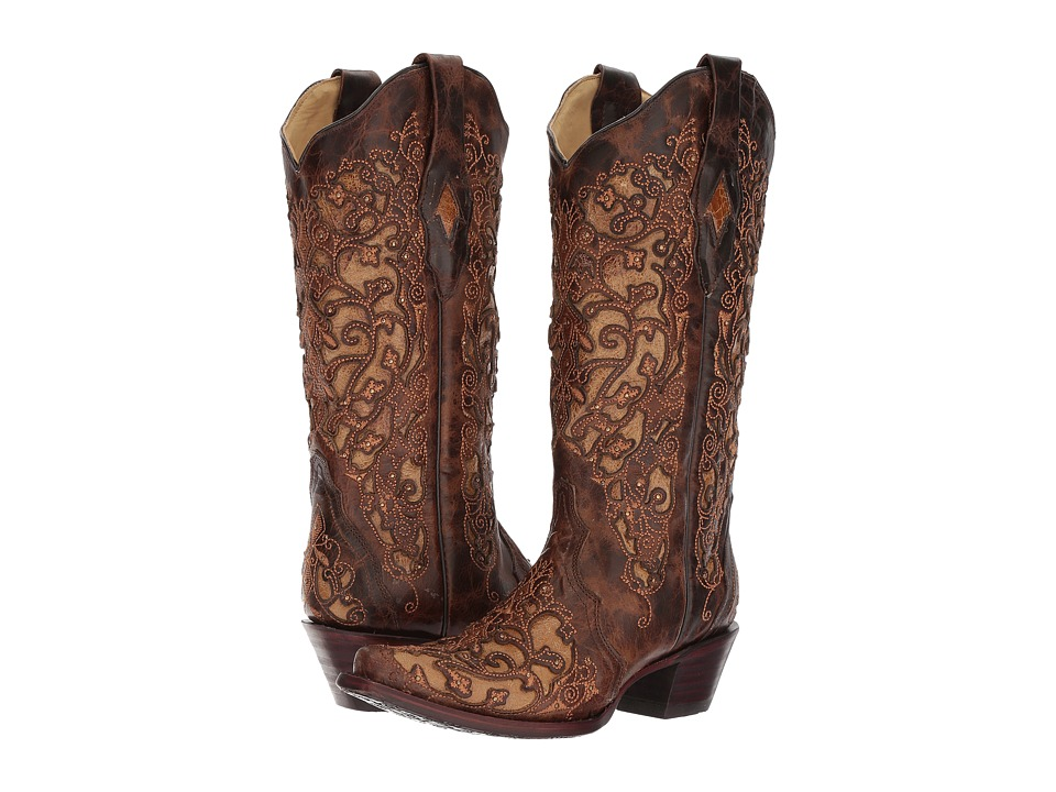Corral Boots - A3319 (Brown) Cowboy Boots