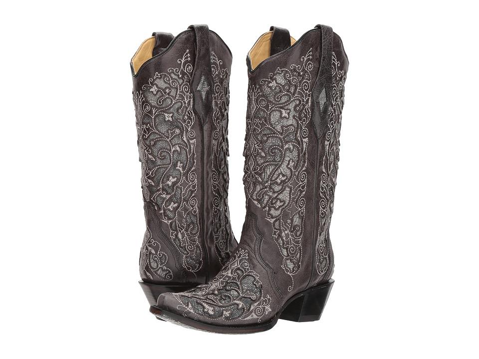 Corral Boots - A3320 (Black) Cowboy Boots