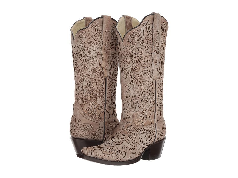 Corral Boots - G1388 (Bone) Cowboy Boots