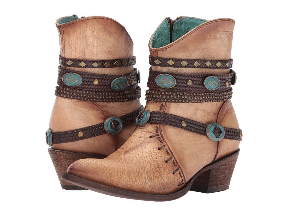 Corral Boots - C3195 (Bone) Cowboy Boots