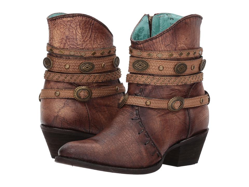 Corral Boots - C3196 (Tobacco) Cowboy Boots