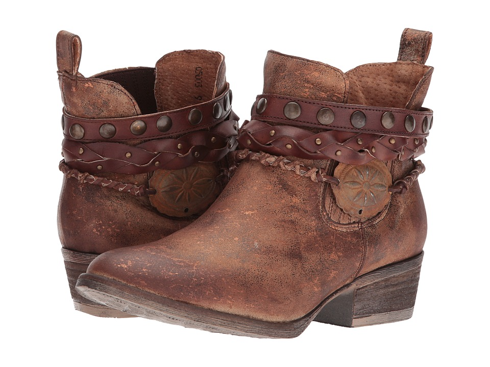 Corral Boots - Q5003 (Brown) Cowboy Boots