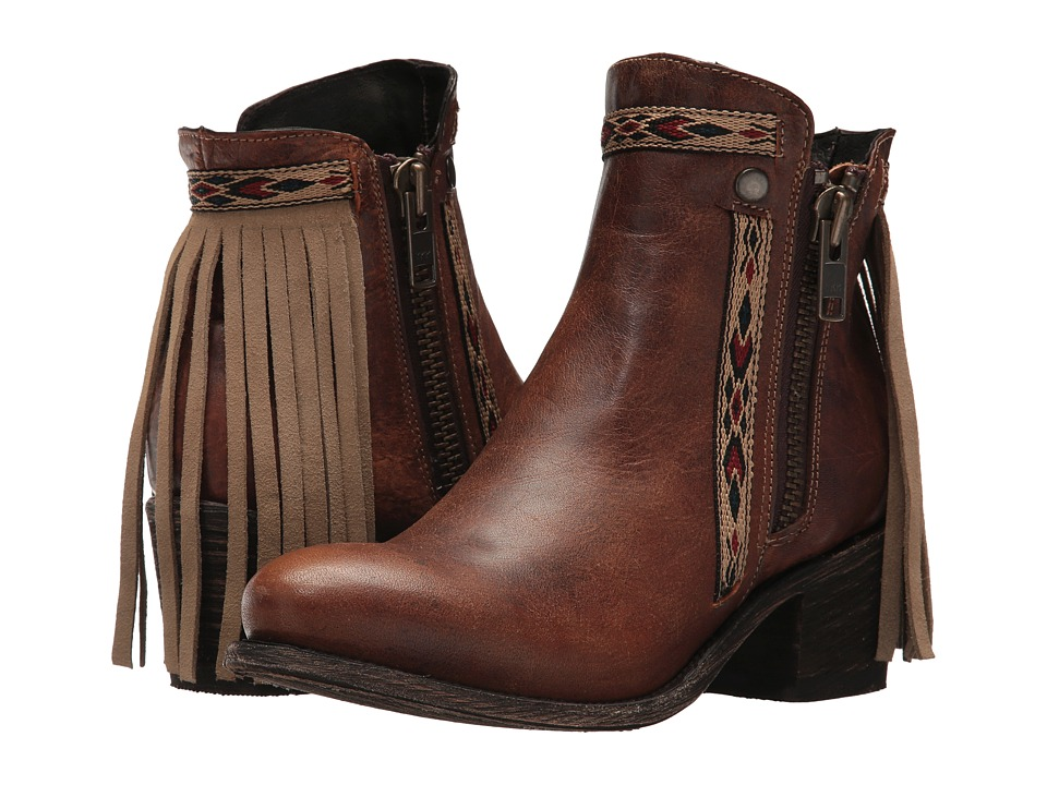 Corral Boots - E1215 (Brown) Cowboy Boots
