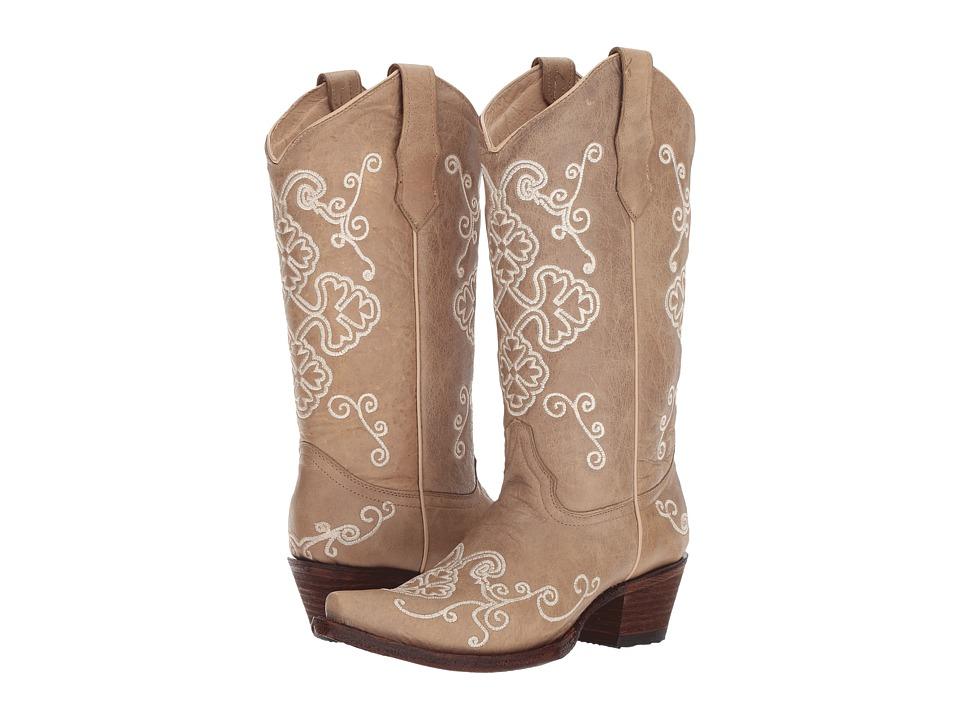 Corral Boots - L5273 (Bone) Cowboy Boots