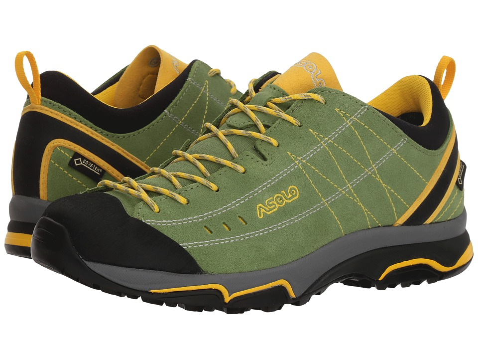 Asolo - Nucleon GV (English Ivy/Yellow) Womens Shoes