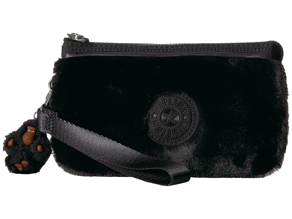 Kipling - Creativity Large RFID Wristlet (Black) Wristlet Handbags