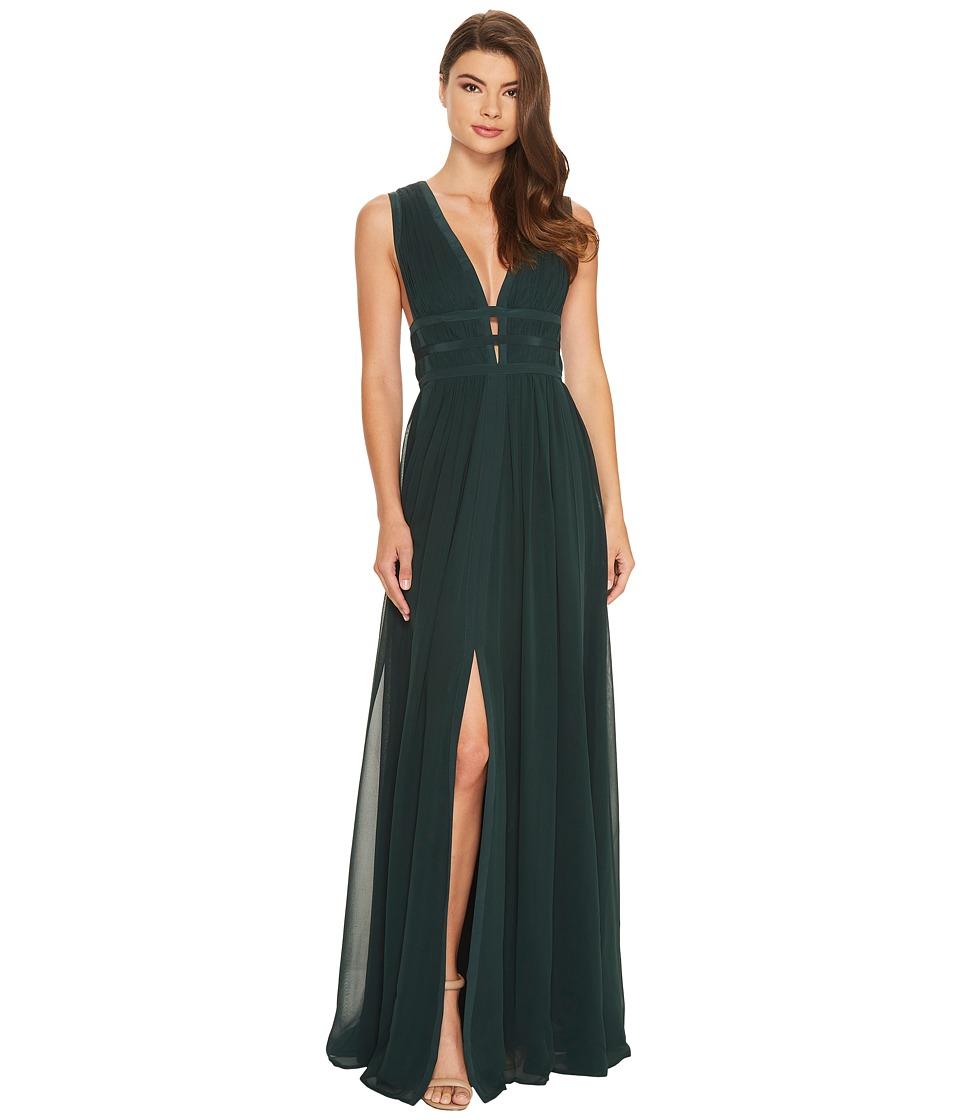 Nicole Miller - Gladiator Gown (Hunter) Women's Dress