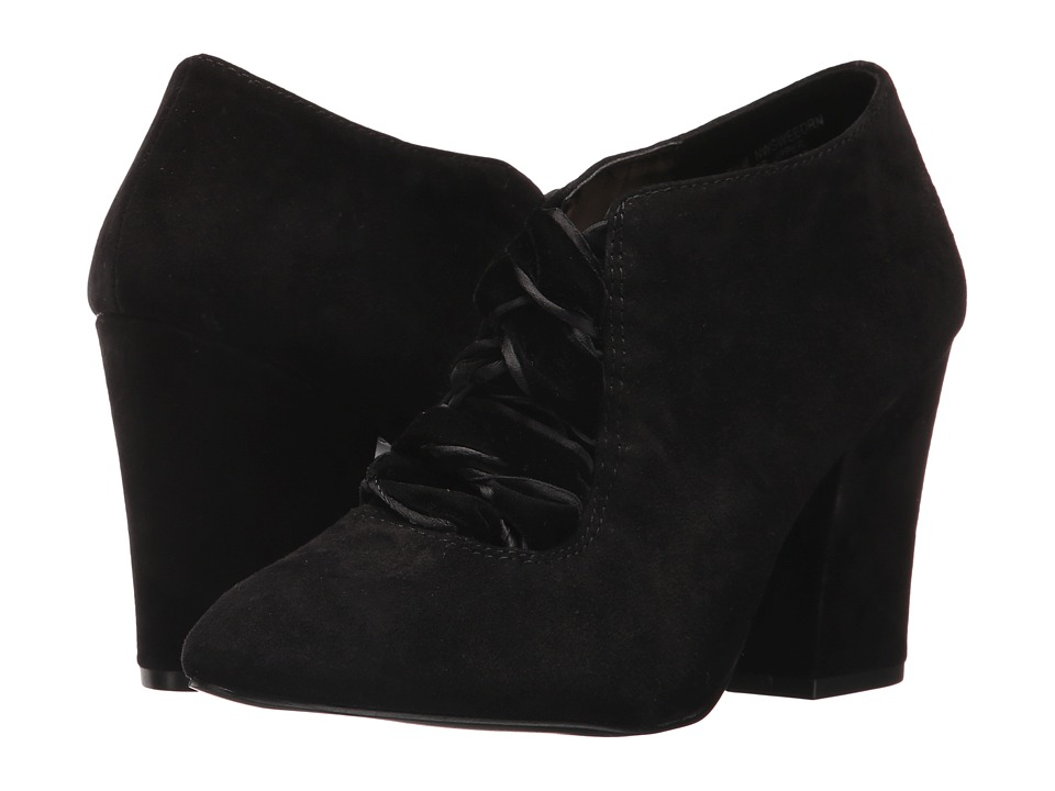 Nine West Sweeorn (Black Suede) Women