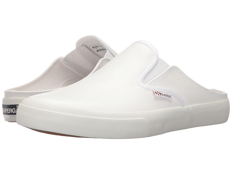 Superga 2388 Leaw (White Leather) Women