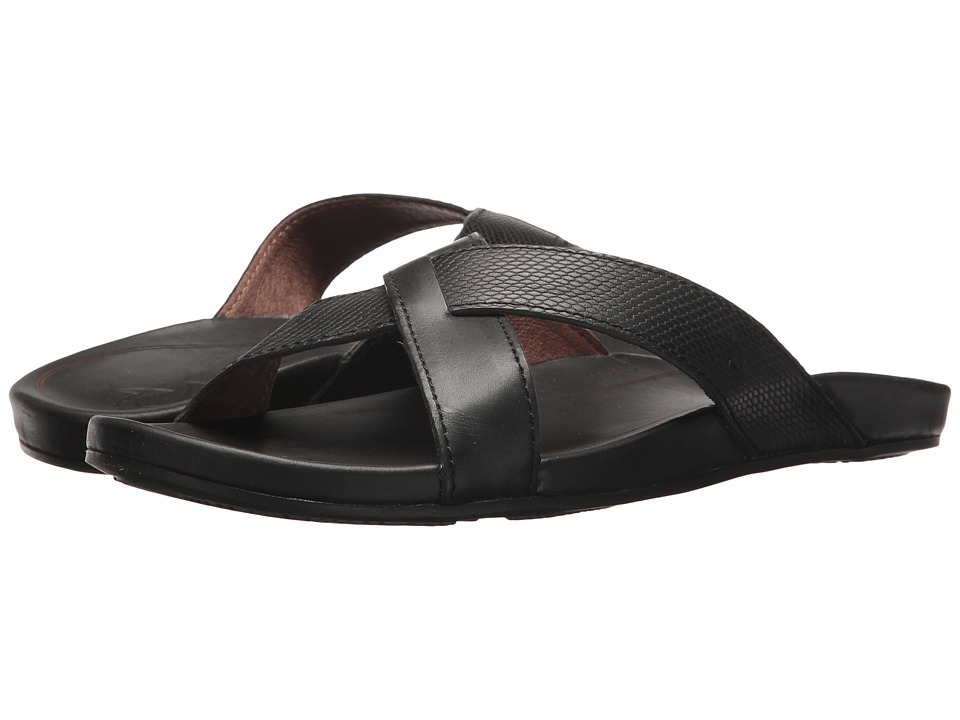OluKai - Pahe'e (Black/Black) Women's Sandals