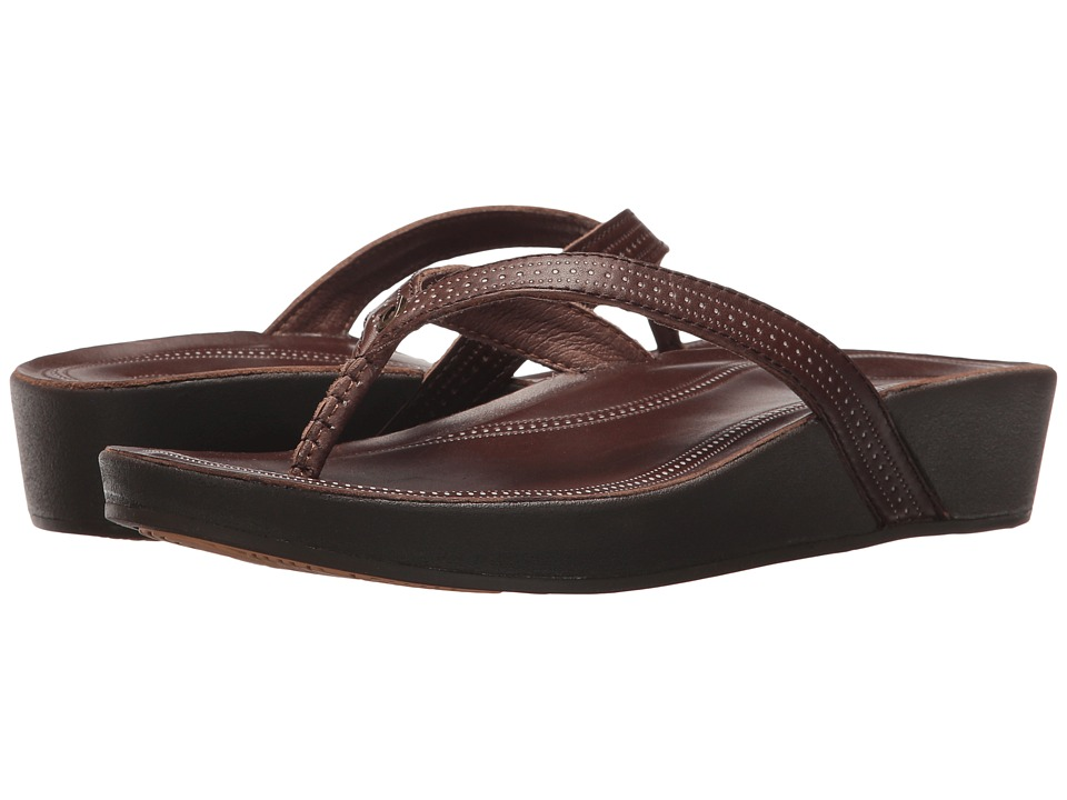 OluKai Ola (Dark Java/Dark Java) Sandals