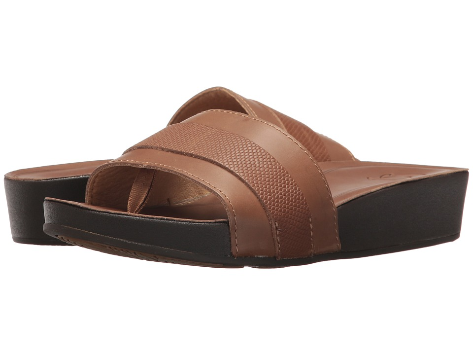 OluKai - Ola Huna (Tan/Tan) Women's Sandals