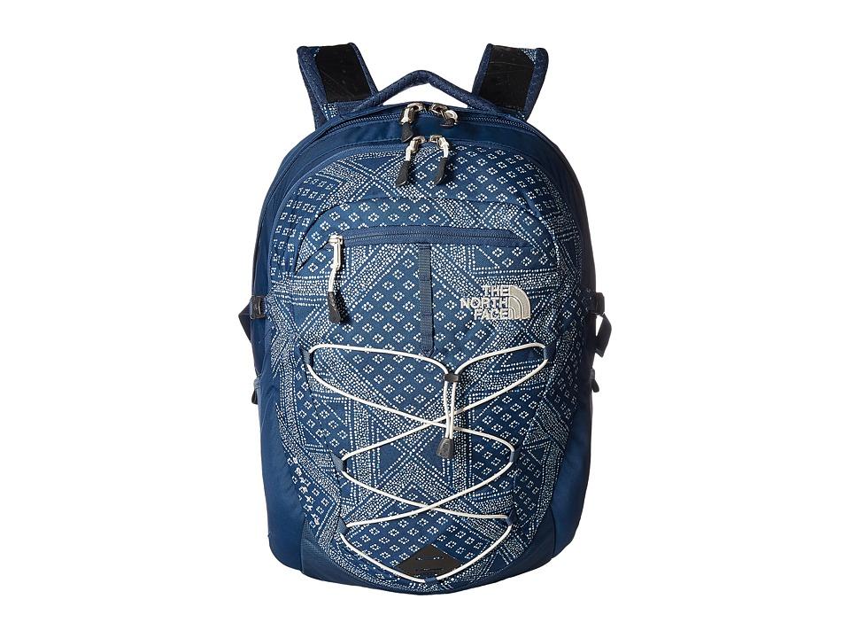 The North Face - Womens Borealis (Shady Blue Bandana Print/Shady Blue) Backpack Bags