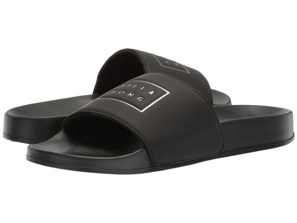 Billabong - Poolslide (Black) Men's Sandals