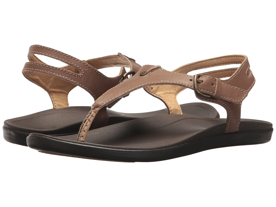 OluKai - 'Eheu (Clay/Dark Java) Women's Sandals