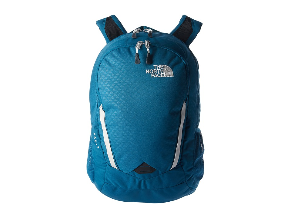 The North Face - Womens Vault (Blue Coral Emboss/Vintage White) Backpack Bags
