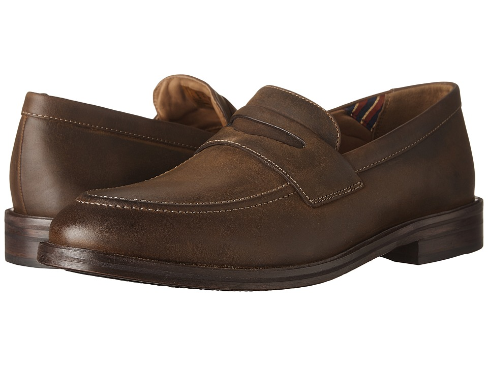 Bostonian - Mckewen Step (Brown Leather) Mens Lace Up Wing Tip Shoes