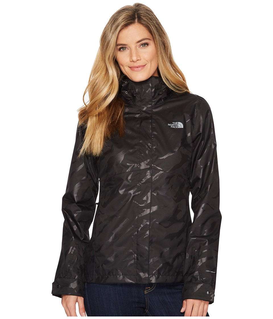 The North Face Berrien Jacket (TNF Black Marker Mountain Emboss) Women