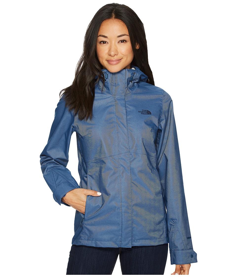 The North Face Berrien Jacket (Blue Wing Teal Denim) Women