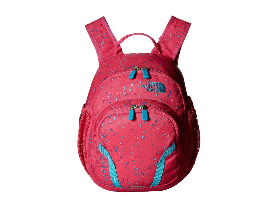 The North Face - Sprout (Toddler/Little Kid) (Petticoat Pink Enamel Print/Algiers Blue) Backpack Bags