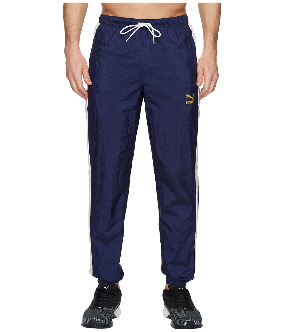 PUMA - T7 BBoy Tracks Pants (Peacoat/White) Mens Workout