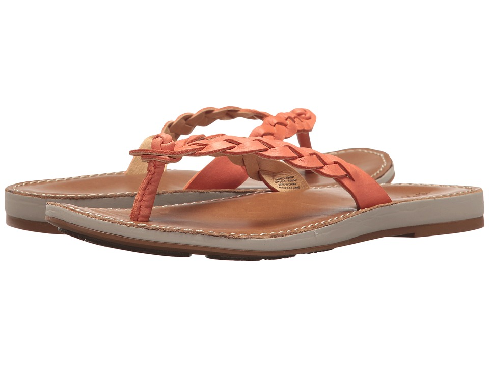 OluKai - Kahiko (Peach/Tan) Women's Sandals