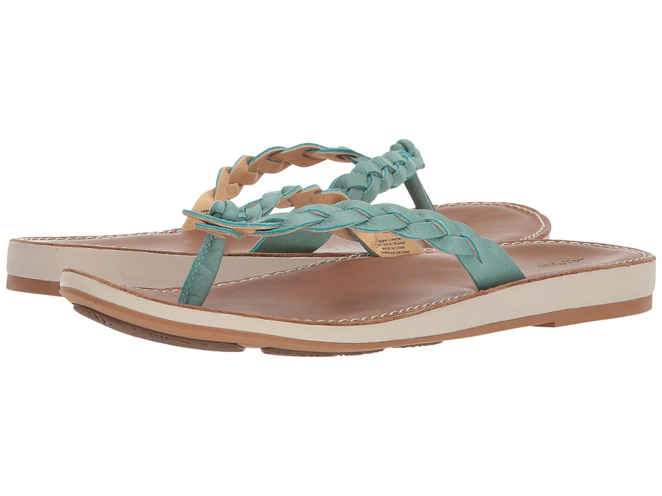 OluKai Kahiko (Sea/Tan) Sandals