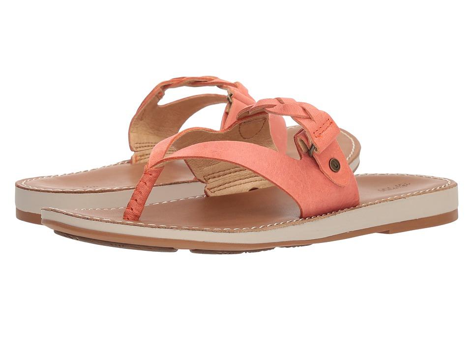 OluKai - Kahikolu (Peach/Tan) Women's Sandals