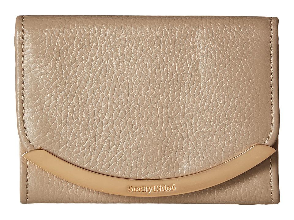 See by Chloe Lizzie Small Wallet (Motty Grey) Wallet Handbags