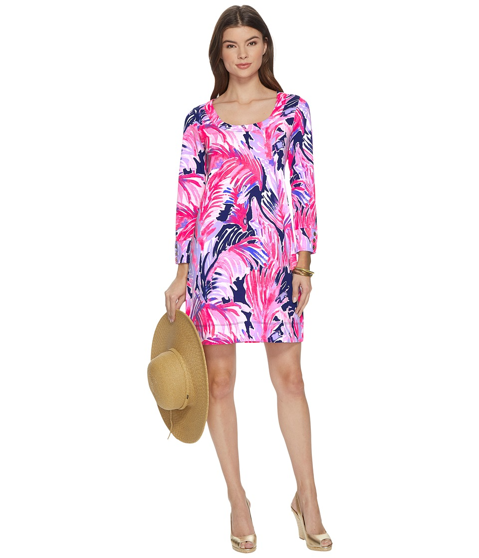 Lilly Pulitzer Merrit Dress (True Blue Paradise Point Reduced) Women