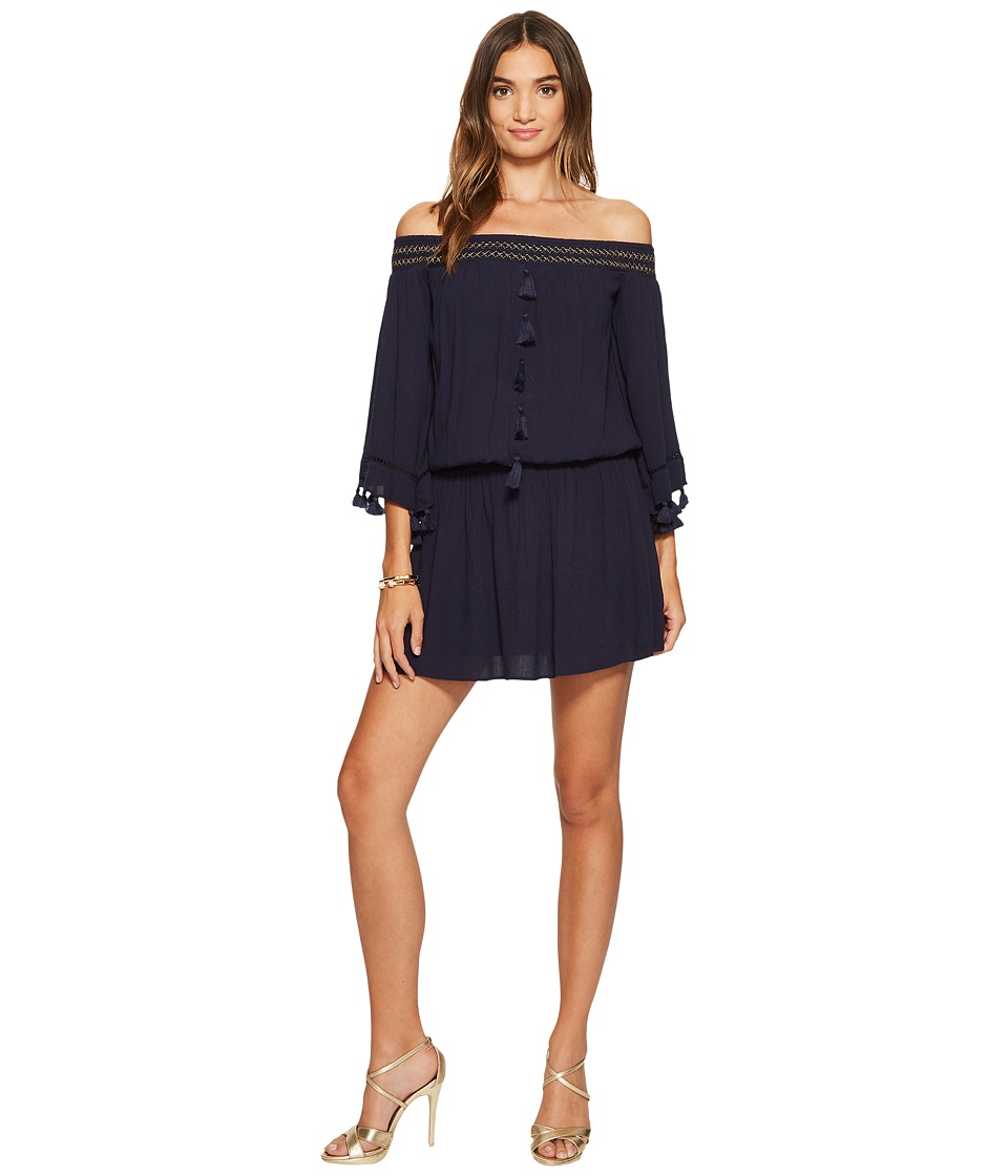 Lilly Pulitzer Joelle Dress (True Navy) Women