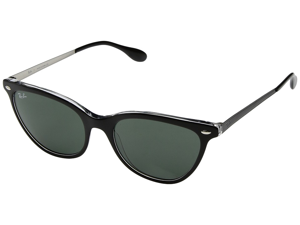 Ray-Ban RB4360 54mm (Black/Green Classic) Fashion Sunglasses