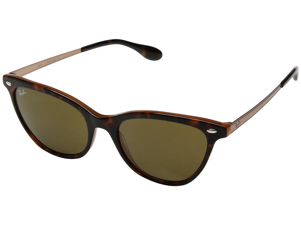 Ray-Ban RB4360 54mm (Havana/Brown Classic) Fashion Sunglasses