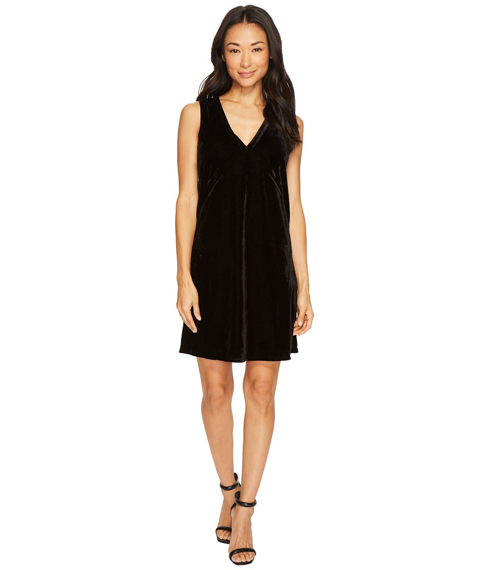 Lilla P Sleeveless V-Neck Dress (Black) Women