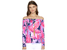 Lilly Pulitzer Audelia Off-The-Shoulder Top