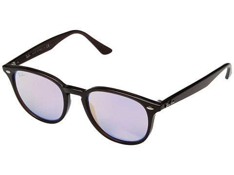 Ray-Ban 0RB4259 51mm - Shiny Opal Brown/Blue Gradient Mirror