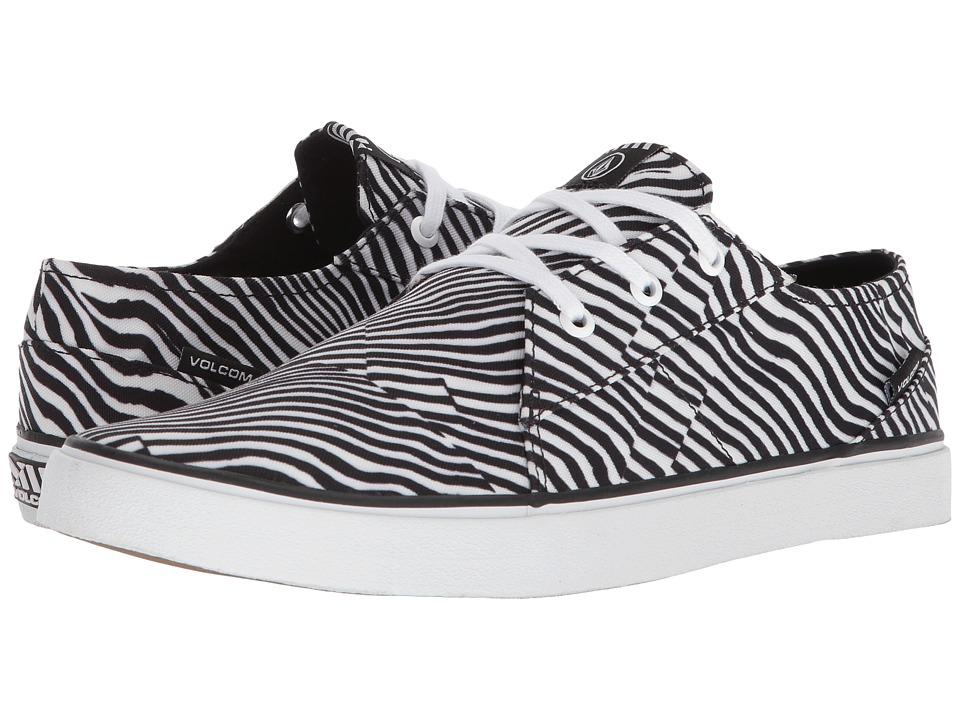 Volcom - Lo Fi (Paint White) Mens Shoes
