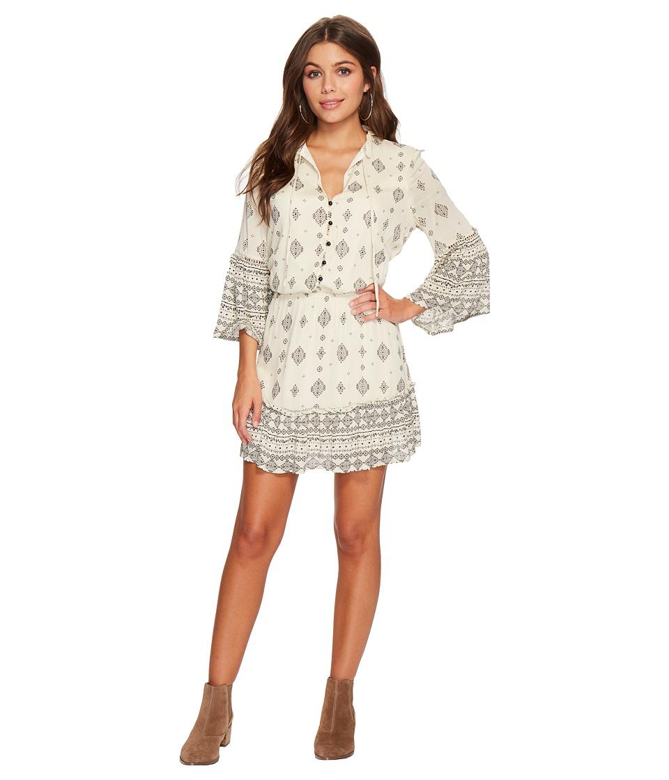 Jack by BB Dakota - Andee Mixed Print Dress (Ivory) Womens Dress
