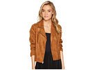 Jack by BB Dakota Adalyn Scuba Faux Suede Moto Jacket