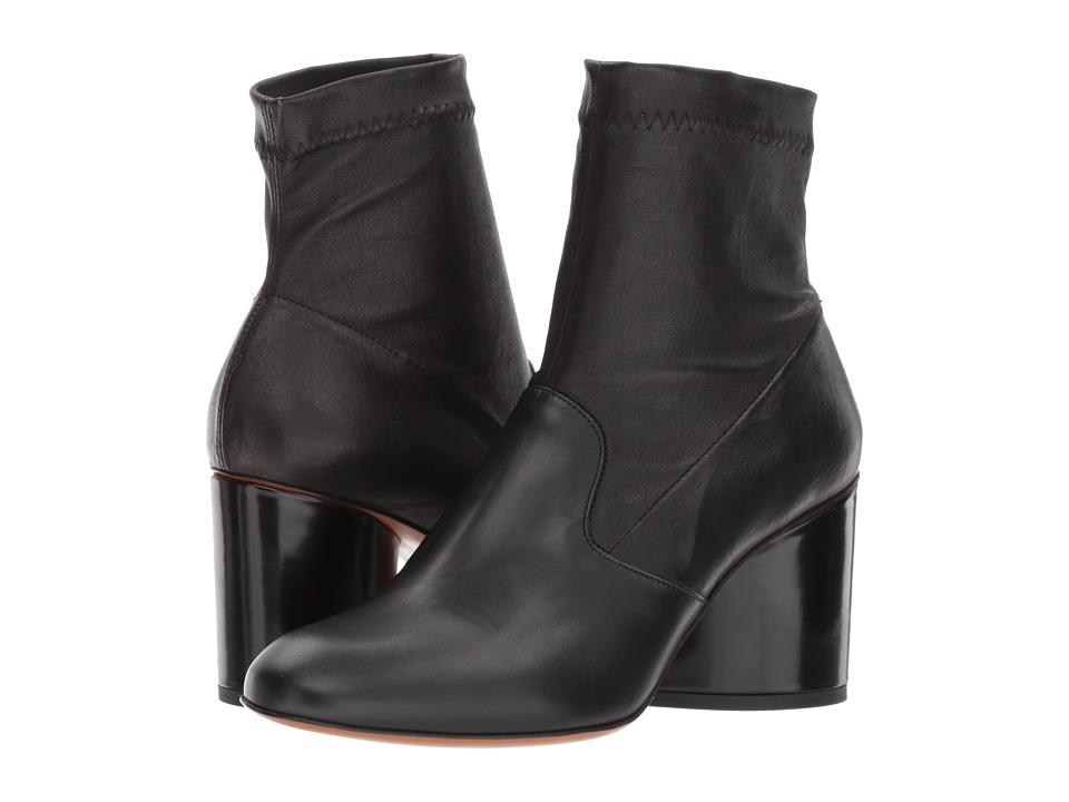 Robert Clergerie Koss (Black Leather Calf) Women