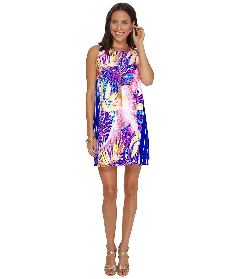 Lilly Pulitzer Jackie Silk Shift (Multi Off The Grid Engineered) Women