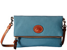 Dooney & Bourke Nylon Foldover Zip Crossbody