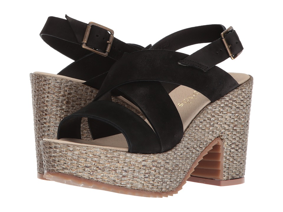 Cordani Lourdes (Black Nubuck) High Heels