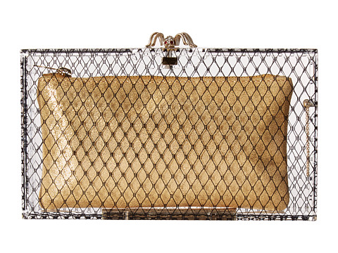 Charlotte Olympia Fishnet Pandora - Transparent/Black