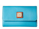 Dooney & Bourke Pebble Flap Wallet