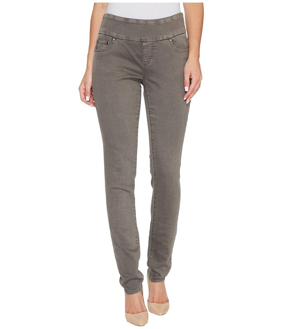 Jag Jeans Nora Pull-On Skinny in Color Knit Denim in Lava Rock (Lava Rock) Women